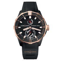 1185-170-3/BLACK   Ulysse Nardin Diver Chronometer 44 mm. Buy online.