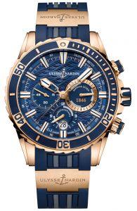 New Ulysse Nardin Diver Chronograph Gold 1502-151-3/93 watch