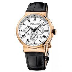 1506-150LE | Ulysse Nardin Marine Chronograph 43mm watch. Buy Online