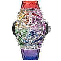 465.SX.9910.LR.0999   Hublot Big Bang One Click Steel Rainbow 39 mm watch   Buy Now