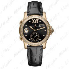 3346-222B/30-02   Ulysse Nardin Dual Time Lady 37.5 mm watch. Buy Online