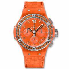341.XO.2770.NR.1206 | Hublot Big Bang Orange Linen 41 mm watch | Buy Now