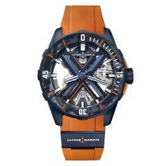 3723-170LE-3A-BLUE/3B | Ulysse Nardin Diver X Skeleton Limited Edition 44mm watch. Buy Online