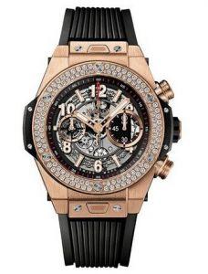 Hublot Big Bang Unico King Gold Diamonds 411.OX.1180.RX.1104 (Watches)