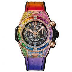 411.OX.9910.LR.0999 | Hublot Big Bang Unico Rainbow King Gold 45 mm | Buy Now
