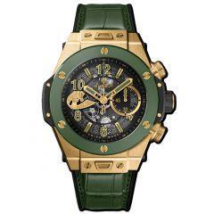 411.VG.1189.LR.WBC19 | Hublot Big Bang Unico Wbc Yellow Gold Green Ceramic 45 mm watch | Buy Now