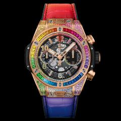 Hublot Big Bang Unico King Gold Rainbow 42mm 441.OX.9910.LR.0999