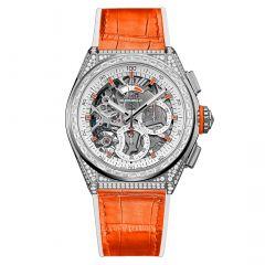 45.9002.9004/76.R591   Zenith Defy El Primero 21 Swizz Beatz watch.