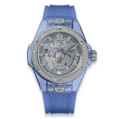 465.JL.4802.RT.1204 | Hublot Big Bang One Click Blue Sapphire Diamonds