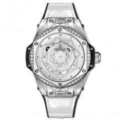 465.SS.2027.VR.1204.MXM19   Hublot Big Bang One Click Sang Bleu Steel White Diamonds 39 mm watch   Buy Now