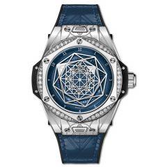 465.SS.7179.VR.1204.MXM19   Hublot Big Bang One Click Sang Bleu Steel Blue Diamonds 39 mm   Buy Now