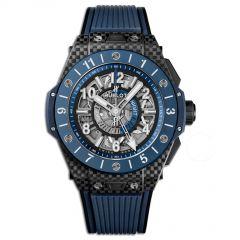 471.QL.7127.RX   Hublot Big Bang Unico GMT Carbon Blue Ceramic 45 mm watch   Buy Now