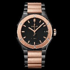 510.CO.1180.CO | Hublot Classic Fusion Ceramic King Gold Bracelet 45 mm watch | Buy Now