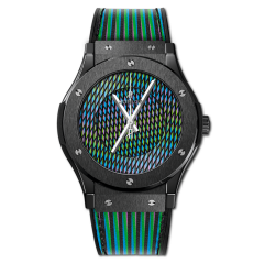 511.CX.8900.VR.CZD19 | Hublot Classic Fusion Cruz Diez Ceramic 45mm watch. Buy Online