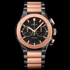 520.CO.1180.CO | Hublot Classic Fusion Chronograph Ceramic King Gold Bracelet | Buy Now