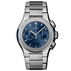 540.NX.7170.NX | Hublot Classic Fusion Chronograph Titanium Blue Bracelet | Buy Now
