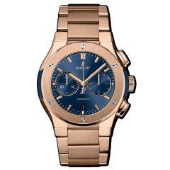 540.OX.7180.OX | Hublot Classic Fusion Chronograph King Gold Blue Bracelet 42 mm watch | Buy Now