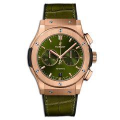 541.OX.8980.LR | Hublot Classic Fusion Chronograph King Gold Green 42 mm | Buy Now