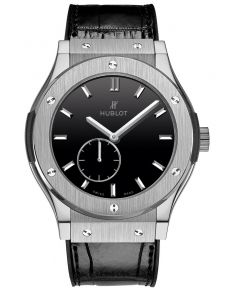 545.NX.1270.LR | Hublot Classic Fusion Titanium Black Dial 42 mm watch | Buy Now