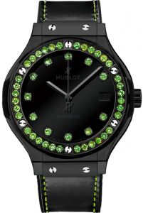 Hublot Classic Fusion Shiny Ceramic Green Tsavorit 565.CX.1210.VR.1222