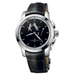 6109-130/E2-TIGER | Ulysse Nardin Hourstriker 42 mm watch. Buy Online
