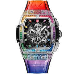 641.NX.0117.LR.0999 | Hublot Spirit Of Big Bang Titanium Rainbow 42 mm watch | Buy Now