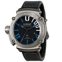 U-Boat Classico 47 1001 SS Blue 47 mm New Authentic Watch. Ref: 8038. International Delivery. Tax Free. 2 years warranty.