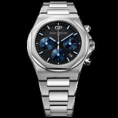 81040-11-631-11A | Girard-Perregaux Laureato Chronograph 38 mm watch | Buy Now