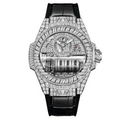 911.WX.9010.LR.9904   Hublot Big Bang MP-11 14 Day Power Reserve White Gold High Jewelry 45 mm watch   Buy Now