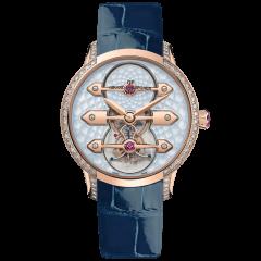 99242D52B401-CK4A | Girard-Perregaux Tourbillon With Three Gold Bridges Lady 38 mm watch | Buy Now