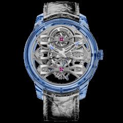 99295-43-002-UA2A | Girard-Perregaux Quasar Azure Tourbillon With Three Bridges 46 mm watch | Buy Now