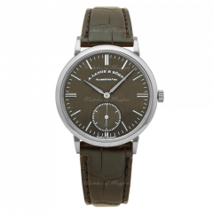 380.044 | A. Lange and Sohne Saxonia Automatic 38.5 mm watch. Buy Now