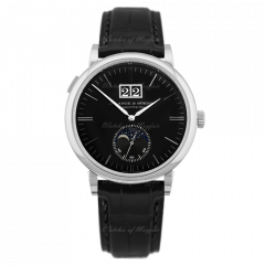 384.029 | A. Lange and Sohne Saxonia Moon Phase 40 mm watch. Buy Now