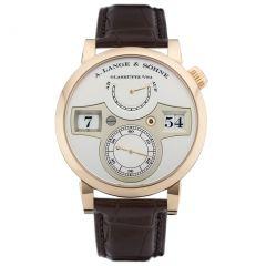 A. Lange and Sohne 140.032 Zeitwerk watch