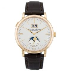 A. Lange and Sohne 384.032 Saxonia Moon Phase watch