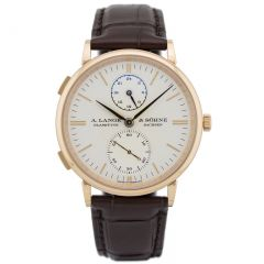 386.032 |  A.Lange & Sohne Saxonia Dual Time 38.5 mm watch. Buy Online