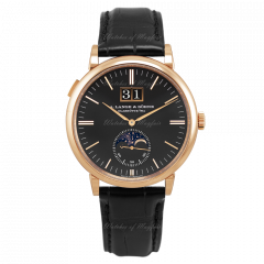 384.031 | A. Lange and Sohne Saxonia Moon Phase 40 mm watch. Buy Now