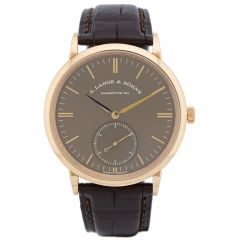 A. Lange & Sohne Automatic Pink Gold Terra Brown 380.042