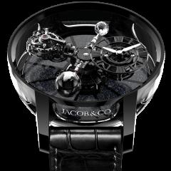 AT100.95.KK.SD.B   Jacob & Co. Astronomia Tourbillon Ceramic Black Movement 50 mm watch   Buy Now