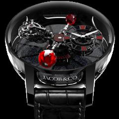 AT100.95.KR.SR.B   Jacob & Co. Astronomia Tourbillon Black Ceramic Black & Red Movement 50 mm watch   Buy Now