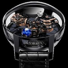 AT100.95.KN.SD.B   Jacob & Co. Astronomia Tourbillon Black Ceramic & Rose Gold Movement   Buy Now