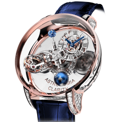 AT820.40.BD.SB.A   Jacob & Co. Astronomia Clarity Rose Gold Baguette 50 mm watch   Buy Now