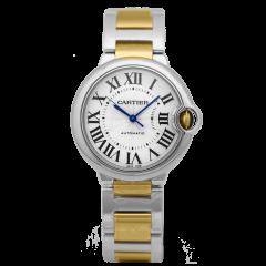 W2BB0012 | Cartier Ballon Bleu 36 mm watch. Buy Now