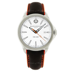 10410 | Baume & Mercier Clifton Club Stainless Steel 42mm watch