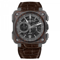 Bell & Ross BR-X1 Chronograph Wood 45 mm BRX1-WD-TI