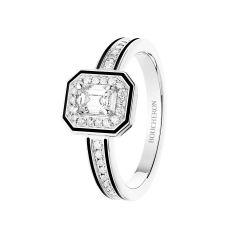 JSL00312 | Buy Online Boucheron Vendôme Liseré White Gold Diamond Ring