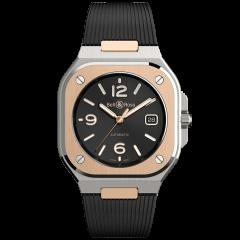 BR05A-BL-STPG/SRB | Bell & Ross BR 05 Black Steel & Gold 40 mm watch | Buy Now