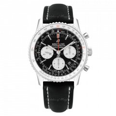AB0121211B1X1   Breitling Navitimer 1 B01 Chronograph 43 mm watch.