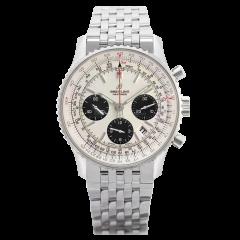 AB0121211G1A1 | Breitling Navitimer 1 B01 Chronograph 43 mm watch.