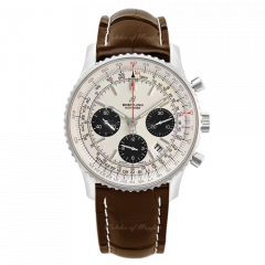 AB0121211G1P2 | Breitling Navitimer 1 B01 Chronograph 43 Steel watch | Buy Now